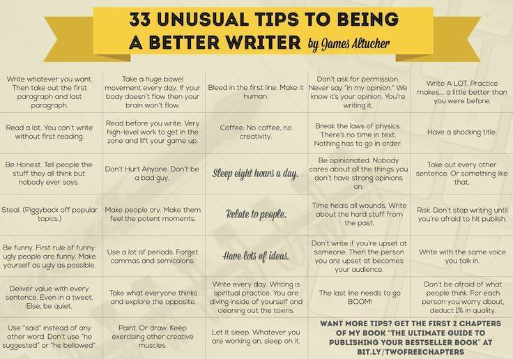 33 unusual tips