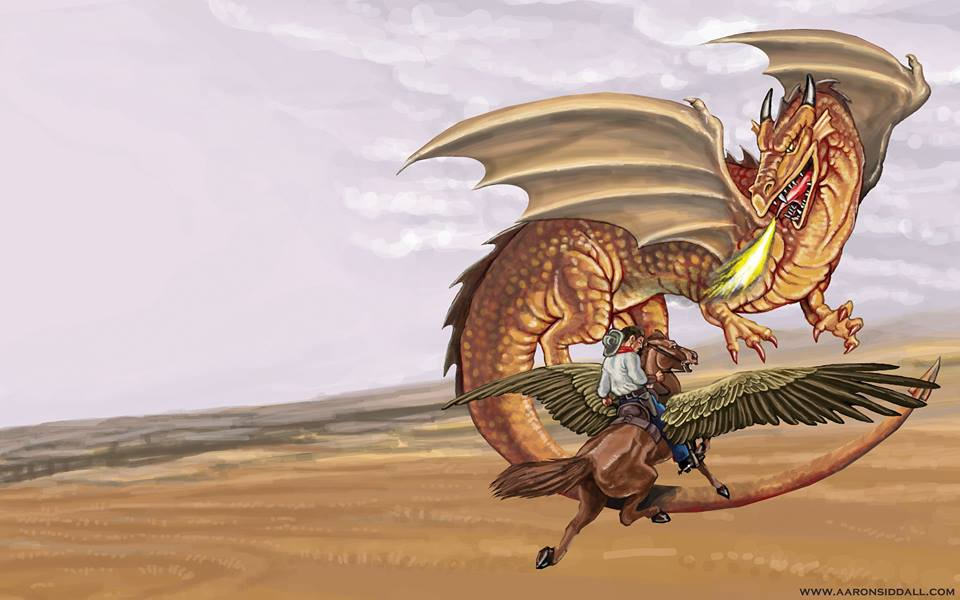 Book Trailer Drop: Gunsmoke & Dragonfire #8!