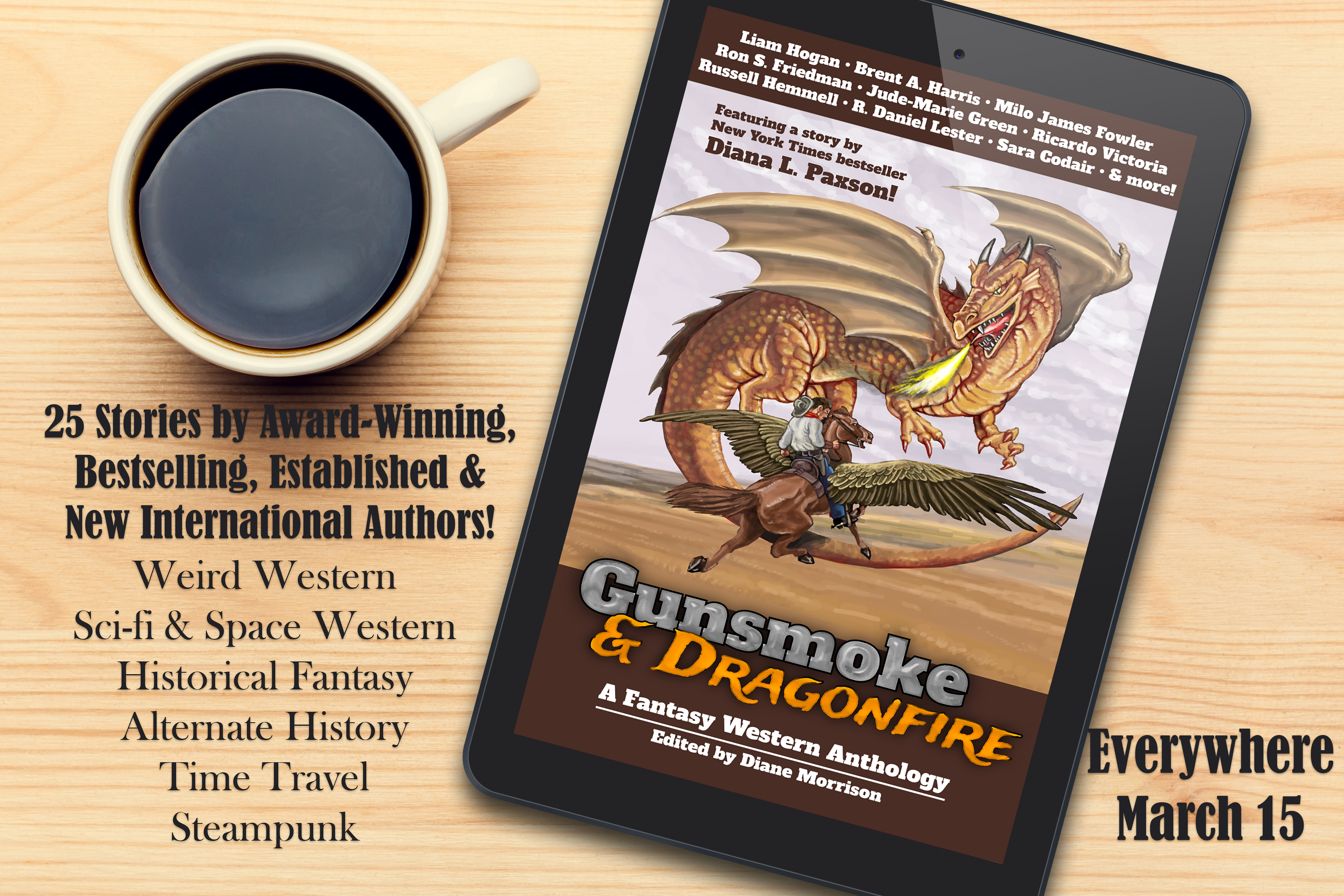 Good Reviews for Gunsmoke & Dragonfire