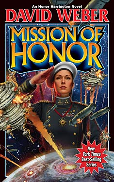 Book Review: Mission of Honor by David Weber @DavidWeberBooks