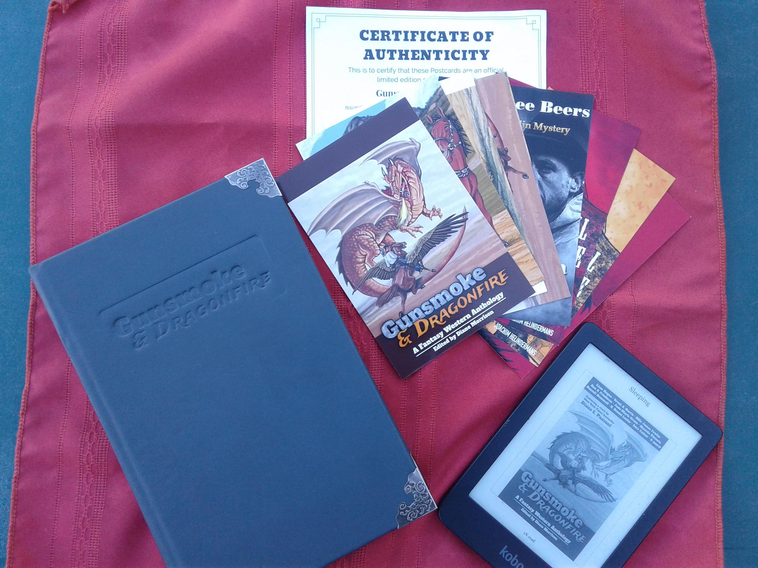 Gunsmoke & Dragonfire September Giveaway!