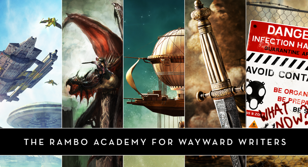 End of the Year Sale at the Rambo Academy for Wayward Writers!